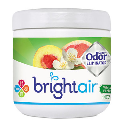 BRIGHT AirA Super Odor Eliminator, White Peach and Citrus, 14 oz (BRI900133)