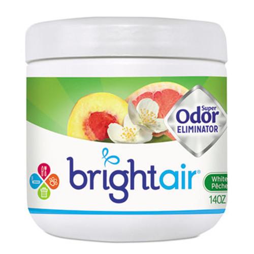 BRIGHT Air Super Odor Eliminator  White Peach and Citrus  14 oz (BRI900133)