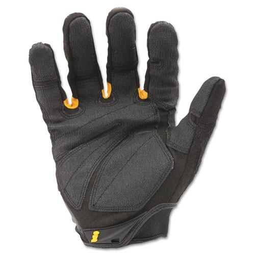 Ironclad SuperDuty Gloves  Medium  Black Yellow  1 Pair (IRNSDG203M)