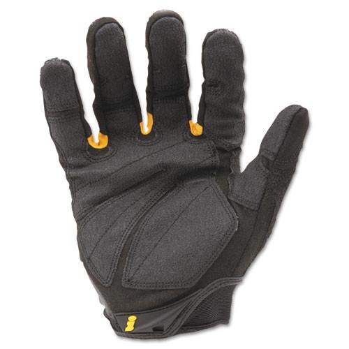 Ironclad SuperDuty Gloves  X-Large  Black Yellow  1 Pair (IRNSDG205XL)