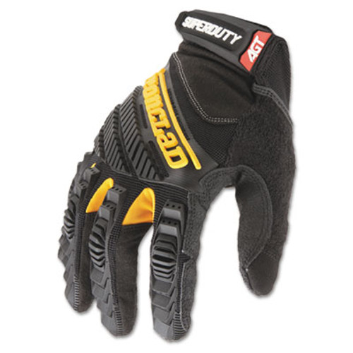 Ironclad SuperDuty Gloves  Large  Black Yellow  1 Pair (IRNSDG204L)