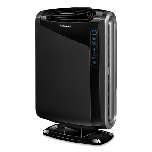 Fellowes HEPA and Carbon Filtration Air Purifiers  300-600 sq ft Room Capacity  Black (FEL9286201)