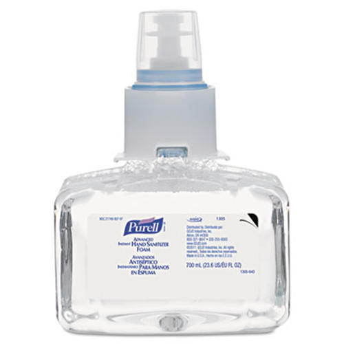 PURELL Advanced Hand Sanitizer Foam  LTX-7  700 mL Refill (GOJ130503EA)