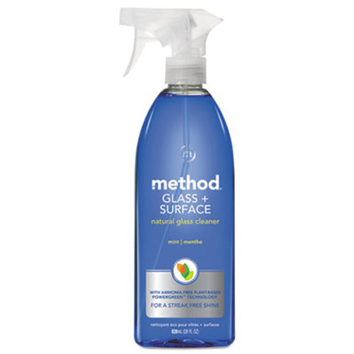 Method Glass and Surface Cleaner  Mint  28 oz Bottle (MTH00003)