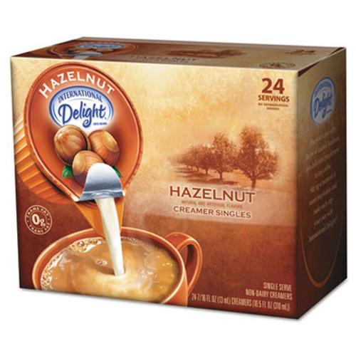 International Delight Coffee Creamer  Hazelnut  0 4375 oz Liquid  24 Box (ITD100680)