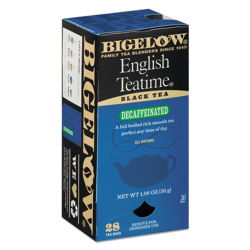 Bigelow Single Flavor Tea Decaf  English Teatime  28 Box (BTC10357)
