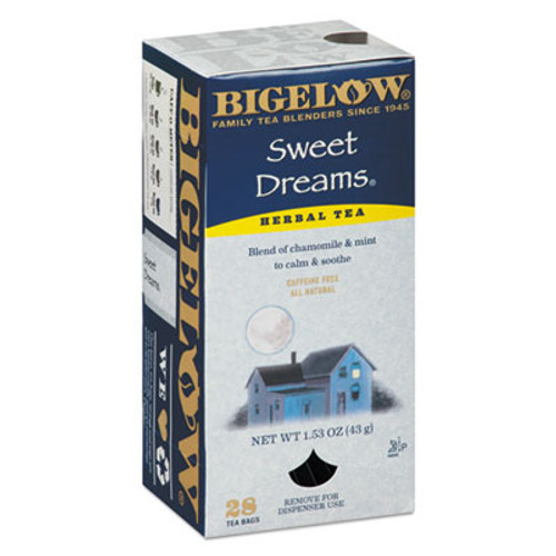 Bigelow Single Flavor Tea, Sweet Dreams, 28/Box (BTC10396)