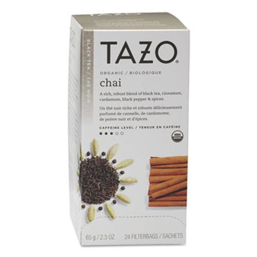 Tazo Chai Organic Black Tea  Filter Bag  24 Box (TZO149904)