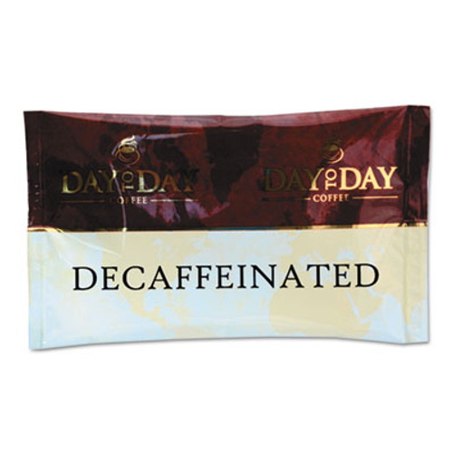 Day to Day Coffee 100  Pure Coffee  Decaffeinated  1 5 oz Pack  42 Packs Carton (PCO23004)