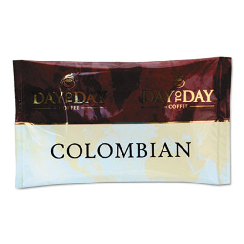 Day to Day Coffee 100  Pure Coffee  Colombian Blend  1 5 oz Pack  42 Packs Carton (PCO23001)