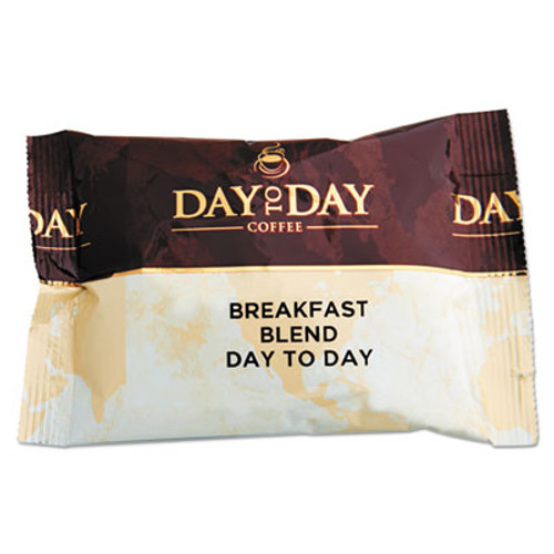 Day to Day Coffee 100  Pure Coffee  Breakfast Blend  1 5 oz Pack  42 Packs Carton (PCO23003)