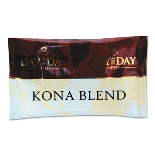 Day to Day Coffee 100  Pure Coffee  Kona Blend  1 5 oz Pack  42 Packs Carton (PCO23002)