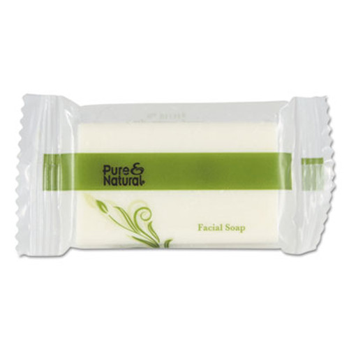 Pure & Natural Body   Facial Soap    3 4  Fresh Scent  White 1000 Carton (PNN500075)