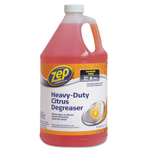 Zep Commercial Citrus Cleaner and Degreaser, Citrus Scent, 1 gal Bottle (ZPEZUCIT128CA)