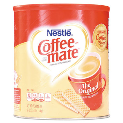 Coffee mate Non-Dairy Powdered Creamer  Original  56 oz Canister (NES824802)