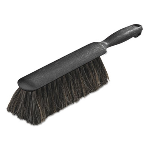 "Carlisle Counter/Radiator Brush, Horsehair Blend, 8"" Brush, 5"" Handle, Black (CFS3622503)"