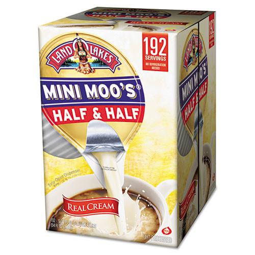Land O' Lakes Mini Moo's Half   Half   3 oz  192 Carton (ITD827976)