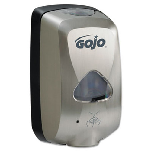 GOJO TFX Touch Free Dispenser  1200 mL  6  x 4  x 10 5   Brushed Metallic (GOJ279912EEU00)