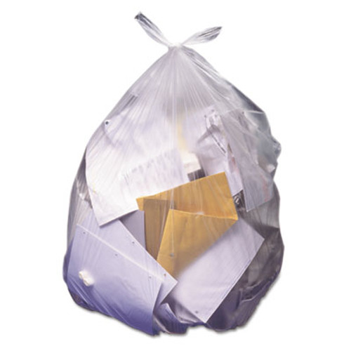 Heritage High-Density Waste Can Liners  45 gal  12 microns  40  x 48   Natural  250 Carton (HERZ8048MNR03)
