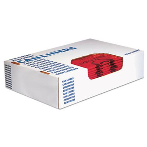 Heritage Healthcare Biohazard Printed Can Liners  10 gal  1 3 mil  24  x 23   Red  500 Carton (HERA4823PR)