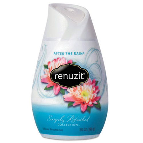 Renuzit Adjustables Air Freshener  After the Rain Scent  7 oz Solid  12 Carton (DIA03663CT)