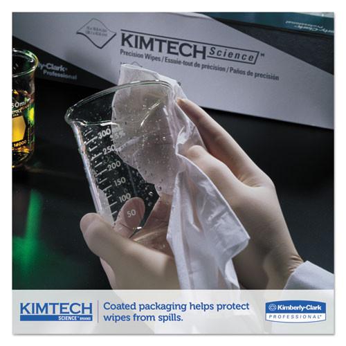 Kimtech Precision Wiper  POP-UP Box  1-Ply  14 7  x 16 6  White  140 Box  15 Boxes Carton (KCC05514CT)