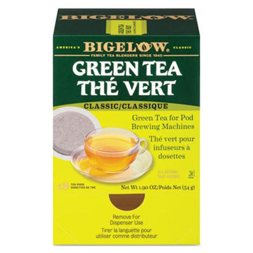 Bigelow Green Tea Pods, 1.90 oz, 18/Box (BTC007906)