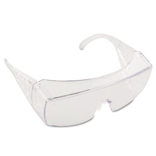 Crews Yukon Safety Glasses, Wraparound, Clear Lens (CRW9810)