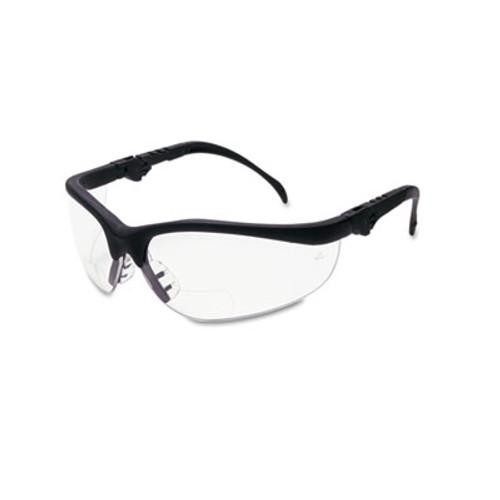 Crews Klondike Magnifier Glasses, 2.5 Magnifier, Clear Lens (CRWK3H25)