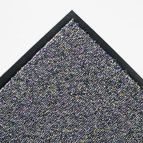 Crown Classic Berber Wiper Mat  Nylon Olefin  36 x 60  Gray (CWNCB0035GY)