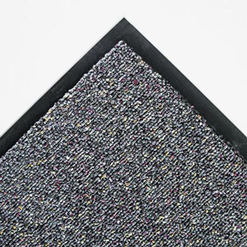 Crown Classic Berber Wiper Mat  Nylon Olefin  48 x 72  Gray (CWNCB0046GY)