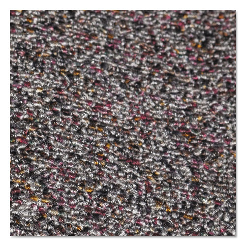Crown Classic Berber Wiper Mat  Nylon Olefin  48 x 72  Gray (CWNCB0046GY)