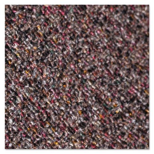 Crown Classic Berber Wiper Mat  Nylon Olefin  36 x 120  Brown (CWNCB0310BR)