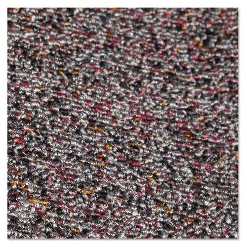 Crown Classic Berber Wiper Mat  Nylon Olefin  36 x 120  Gray (CWNCB0310GY)