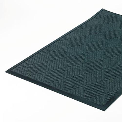 Crown Super-Soaker Diamond Mat  Polypropylene  36 x 60  Slate (CWNS1R035ST)