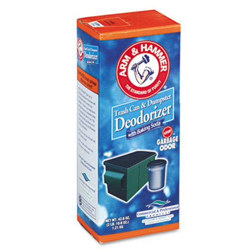 Arm & Hammer Trash Can   Dumpster Deodorizer  Sprinkle Top  Original  42 6 oz Powder (CDC3320084116)