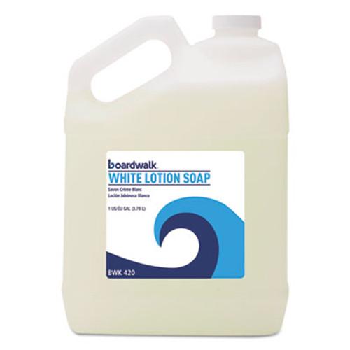 Boardwalk Mild Cleansing Lotion Soap  Floral Scent  Liquid  1 gal Bottle (BWK420EA)