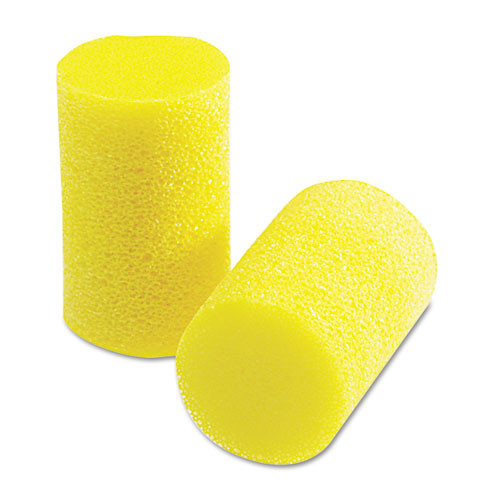 3M EA  AA  R Classic Small Earplugs in Pillow Paks  PVC Foam  Yellow  200 Pairs (MMM3101103)