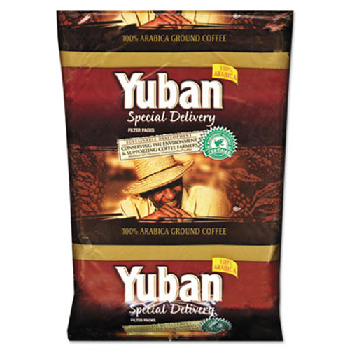 Yuban Special Delivery Coffee  Colombian  1 2 oz Packs  42 Carton (YUB863070)