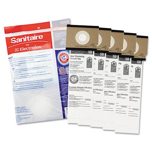 Sanitaire SD Premium Allergen Vacuum Bags for SC9100 Series  5 Pack (EUR63262B10)