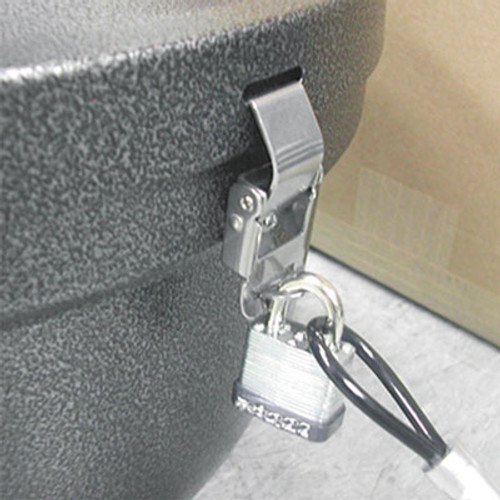 Ex-Cell Smokers' Oasis Lock Kit  48in Plastic-Coated Steel Cable w Lock Key (EXCSRSLCKKIT)