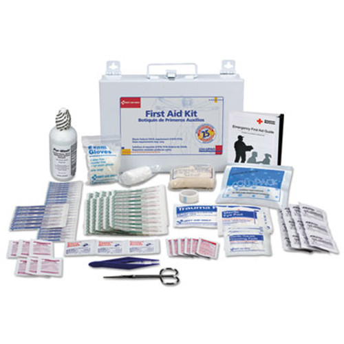 First Aid Only First Aid Kit for 25 People  106-Pieces  OSHA Compliant  Metal Case (FAO224U)