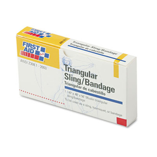 First Aid Only First-Aid Refill Sling Tourniquet Triangular Bandages  40  x 40  x 56   10 Pack (FAOAN5071)