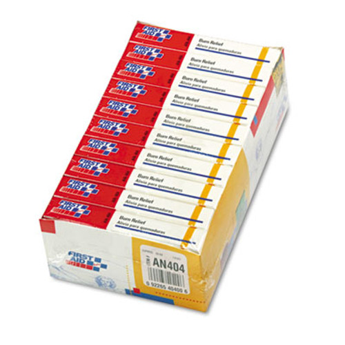 First Aid Only Burn Treatment Pack Refills for ANSI-Compliant First Aid Kits Cabinets  60 Pack (FAOAN404)