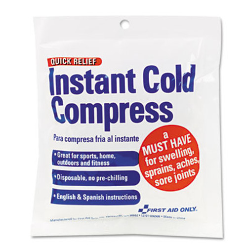 First Aid Only Cold Compress  4 x 5 (FAOZ6005)