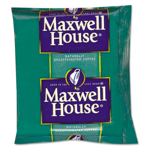 Maxwell House Coffee  Original Roast Decaf  1 1 oz Pack  42 Carton (MWH390390)