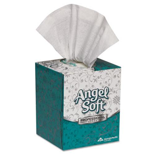Georgia Pacific Professional Premium Facial Tissue in Cube Box  2-Ply  White  96 Sheets Box  36 Boxes Carton (GPC46580CT)