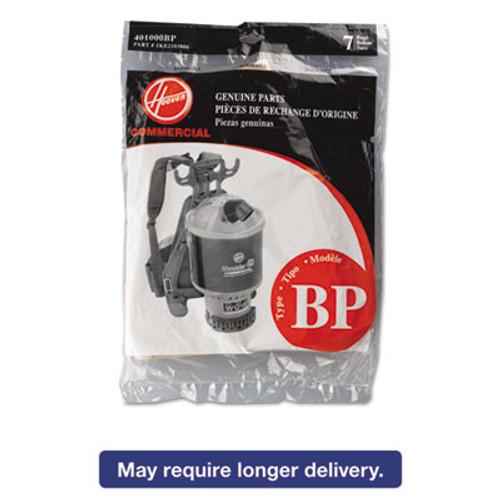 Hoover Commercial Disposable Paper Liner for Commercial Backpack Vacuum Cleaner  7PK EA (HVR401000BP)