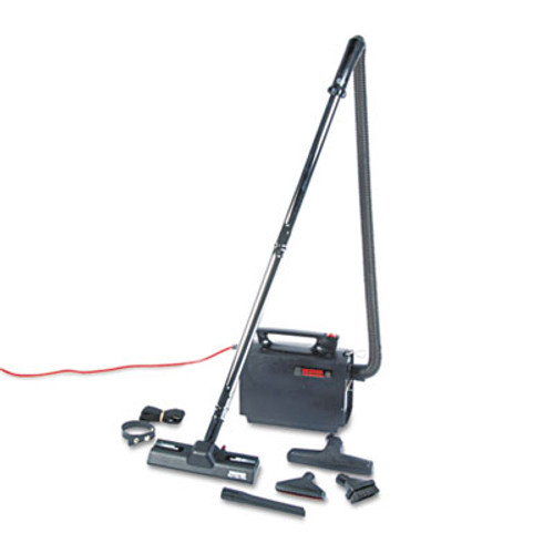 Hoover Commercial Portapower Lightweight Vacuum Cleaner  8 3lb  Black (HVRCH3000)