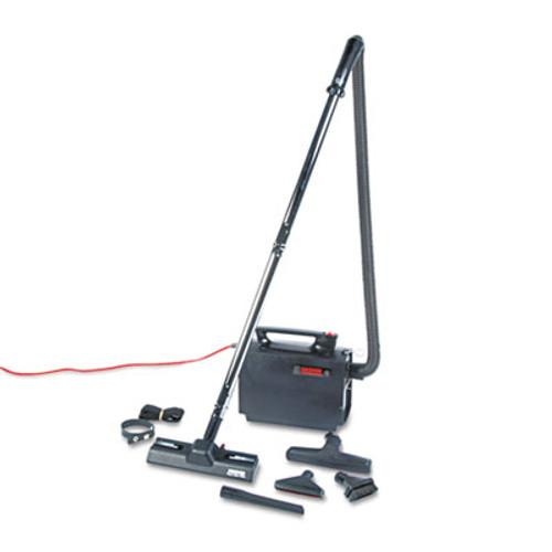 Hoover Commercial Portapower Lightweight Vacuum Cleaner  8 3lb  Black (HVRCH3000)